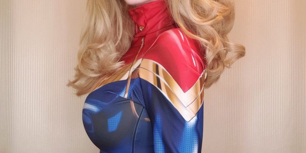 Video Calls with Captain Marvel on Friday, April 3