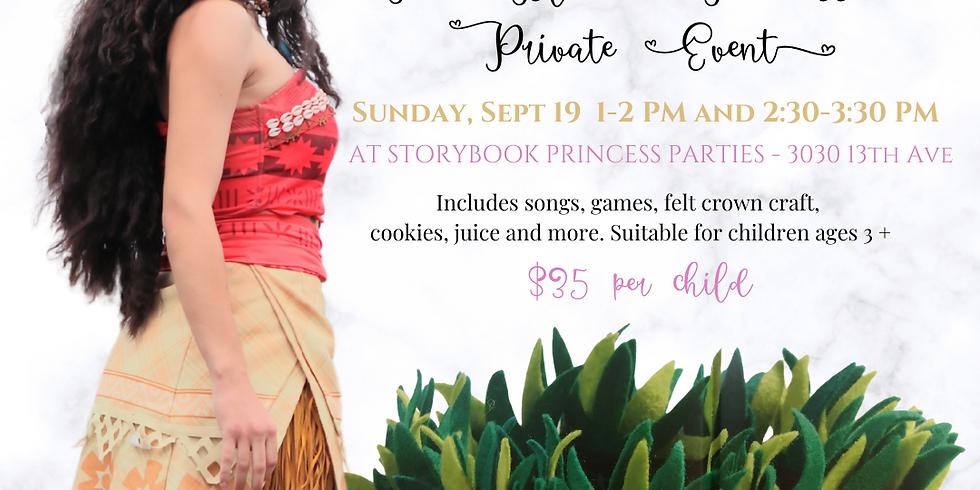 The Island Princess Private Event Session 1