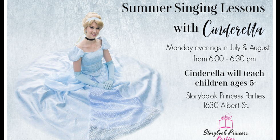 Summer Singing Lessons with Cinderella