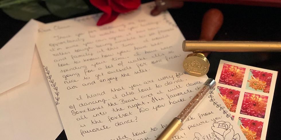Princess Pen Pals- 12 total correspondences
