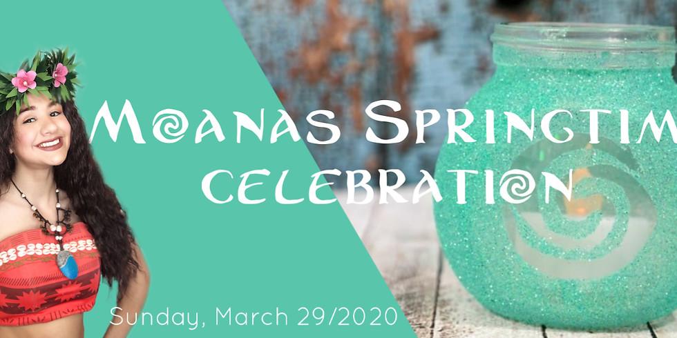 Moana's Springtime Celebration
