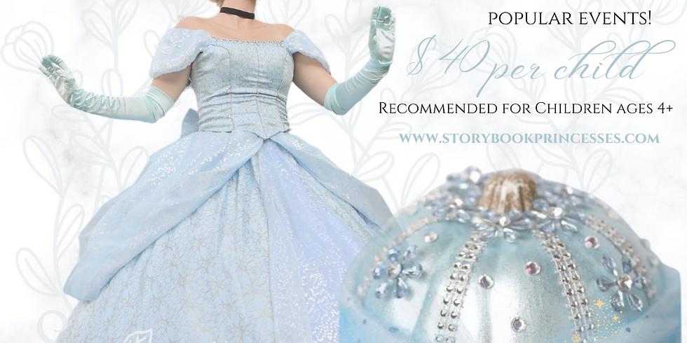 Cinderella's Pumpkin Decorating Session 1