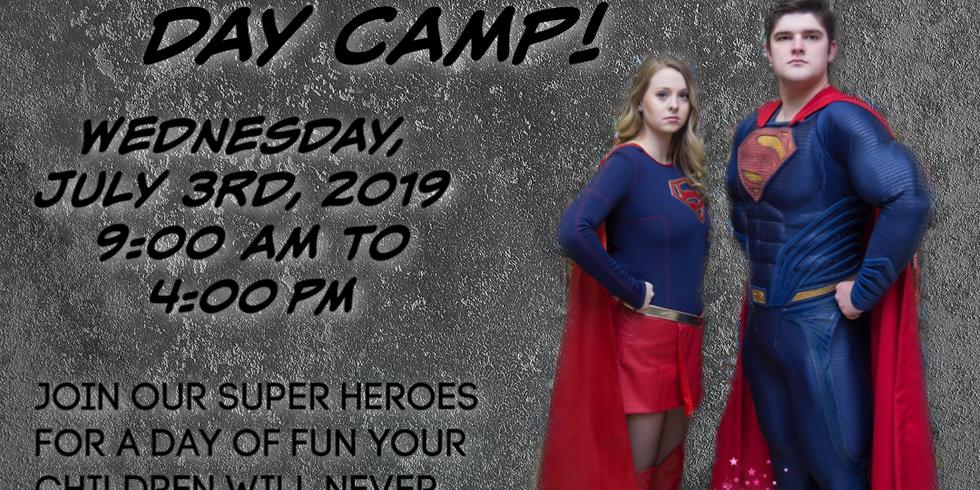 Super Hero Day Camp!