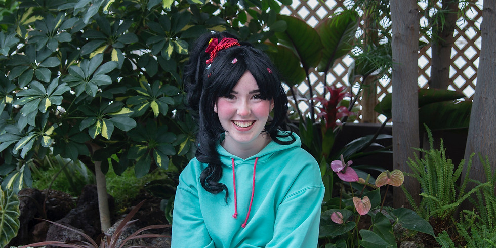 Video Calls with Vanellope on Friday, April 17