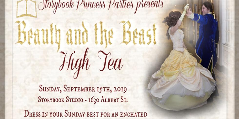 Beauty & the Beast High Tea
