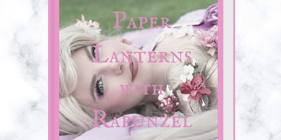 Paper Lanterns with Rapunzel Virtual Event