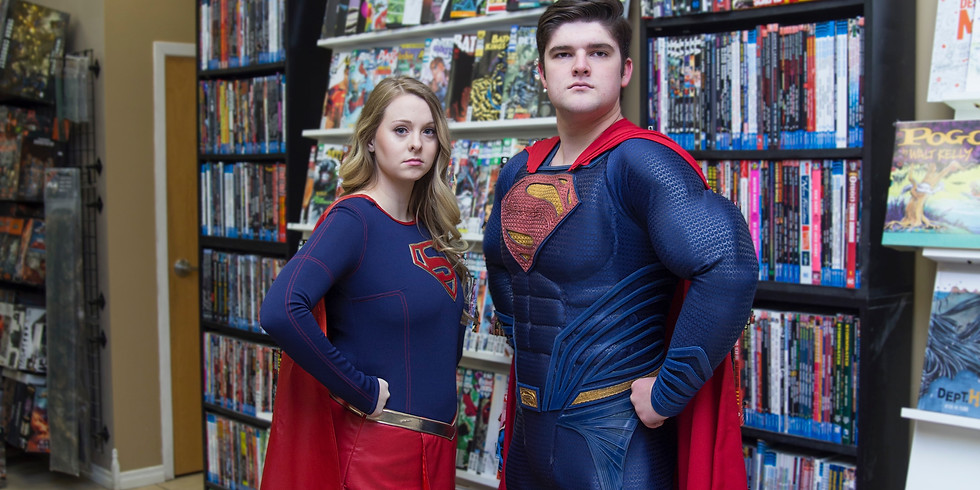 Superhero Training with The Man and Girl of Steel 2:30- 3:30 pm