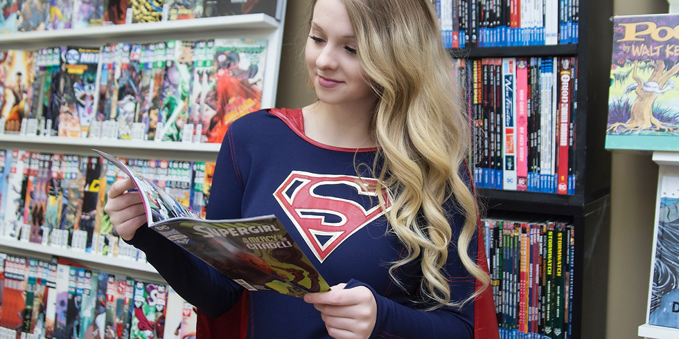 Video Calls with Super Girl on Saturday, April 4