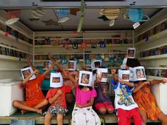 YE Mobile Library Programme children astronauts