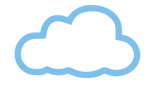 Gray medium sized cloud