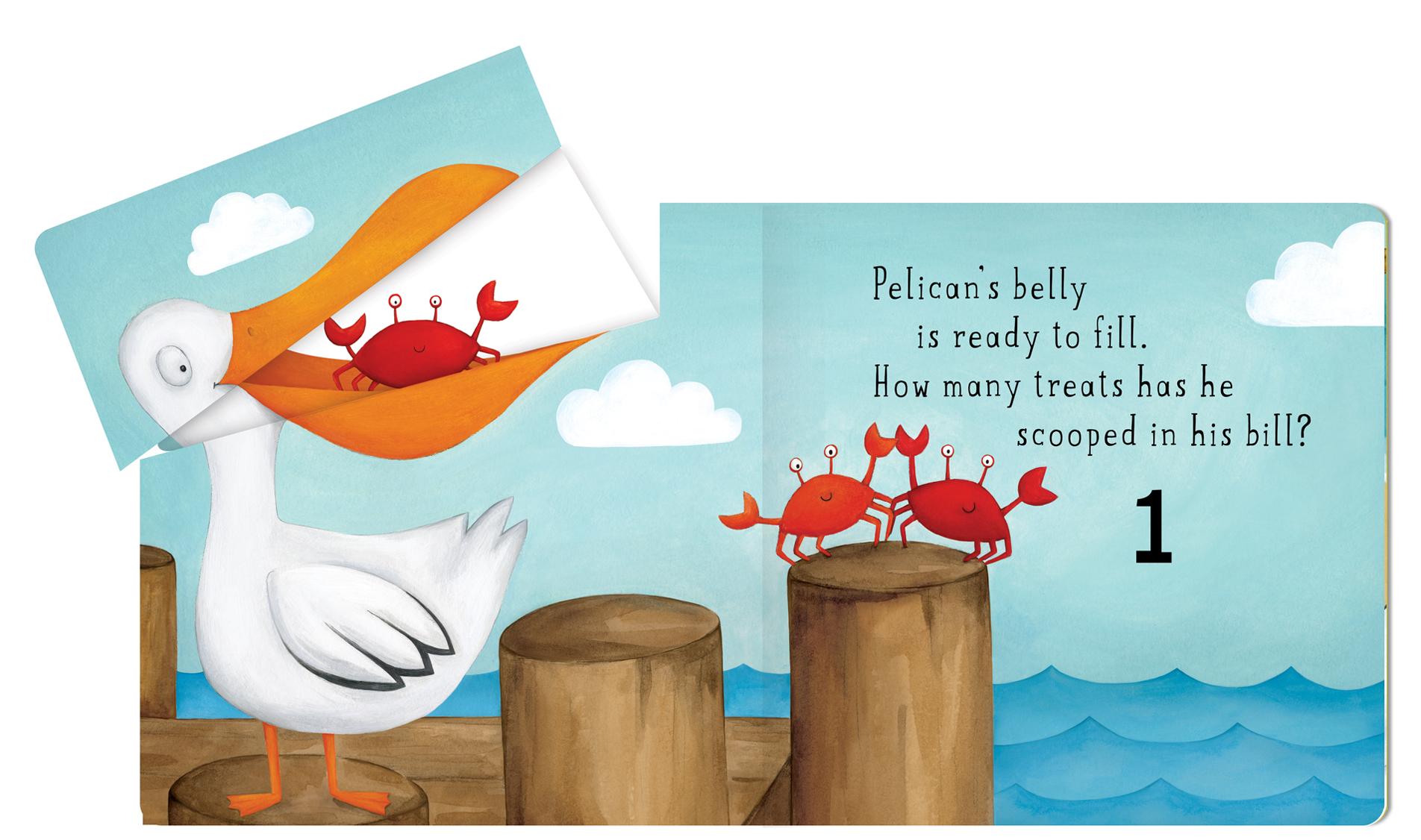 Pelicans Bill Spread 1 Open