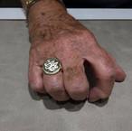 Ring met initialen