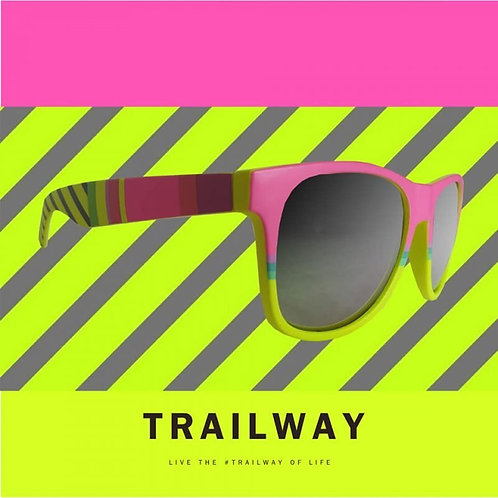 Trailway UV400 - Pink Journey Trail Sunglasses