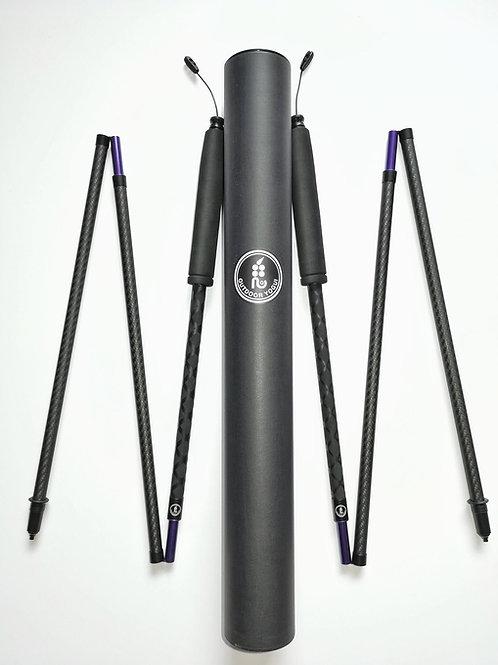 Outdoor Yogui 碳纖折疊登山杖