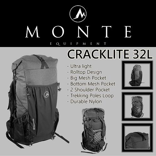MONTE EQUIPMENT Cracklite 32L ANTI BLACK