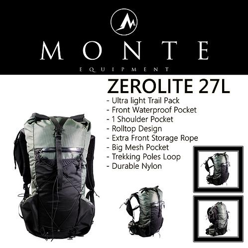 MONTE EQUIPMENT Zerolite 27L OLIVE