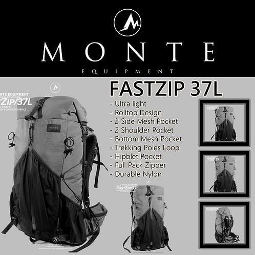 MONTE EQUIPMENT Fastzip 37L Grey