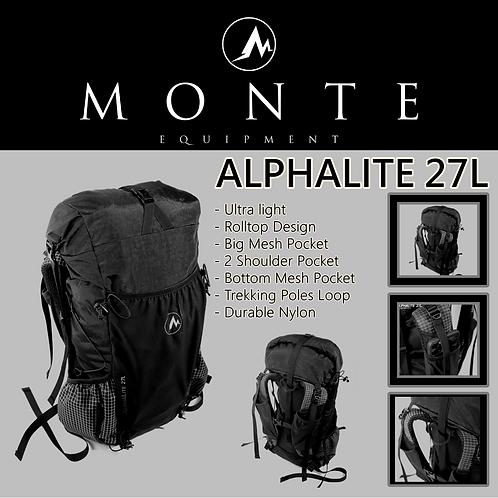 MONTE EQUIPMENT Alphalite 27L Anti Black