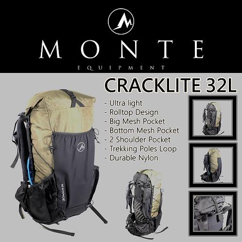 MONTE EQUIPMENT Cracklite 32L OLIVE