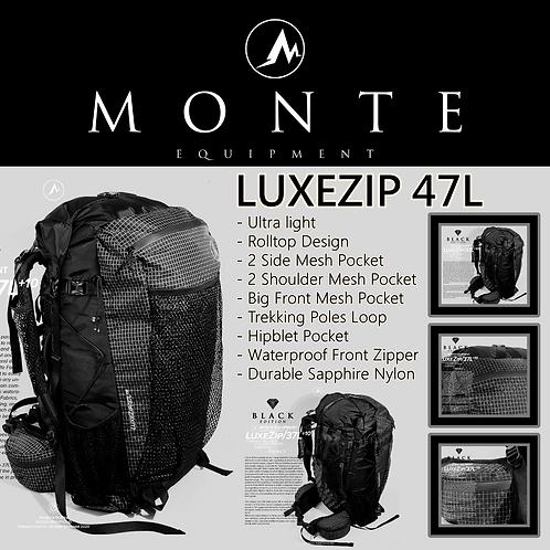 MONTE EQUIPMENT Luxezip 47L Limited Black