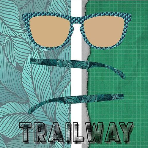 Trailway Polarized - Jungle Green Sunglasses