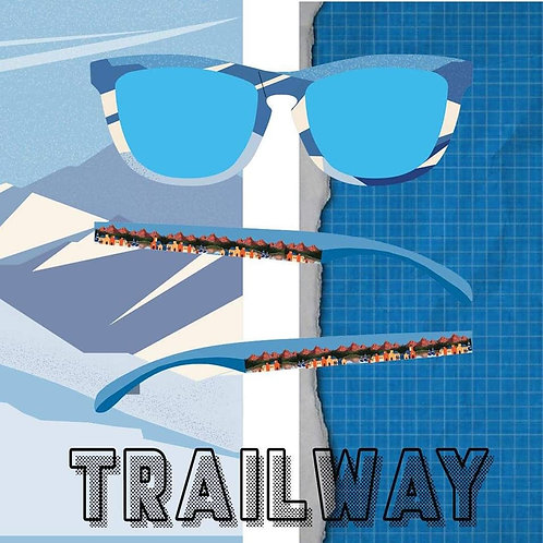 Trailway Polarized - Blue Journey Sunglasses