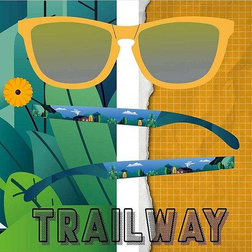 Trailway Polarized - Yellow Paradise Sunglasses