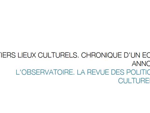Les tiers lieux culturels, chronique d'un échec annoncé