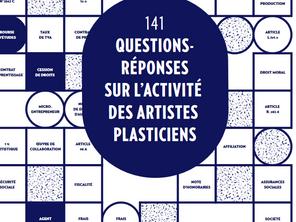 141 questions-réponses sur l'activité des artistes-plasticiens