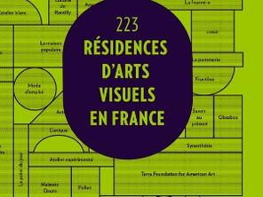 223 Résidences d'arts visuels en France, 2016