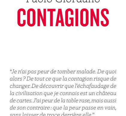 Contagions. Paolo Giordano