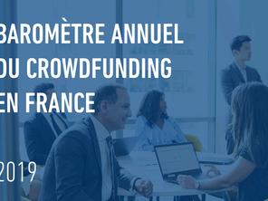 Baromètre du crowdfunding en France en 2019