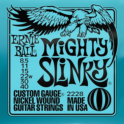 Ernie Ball Mighty Slinky 8.5 - 40 Electric Guitar Strings