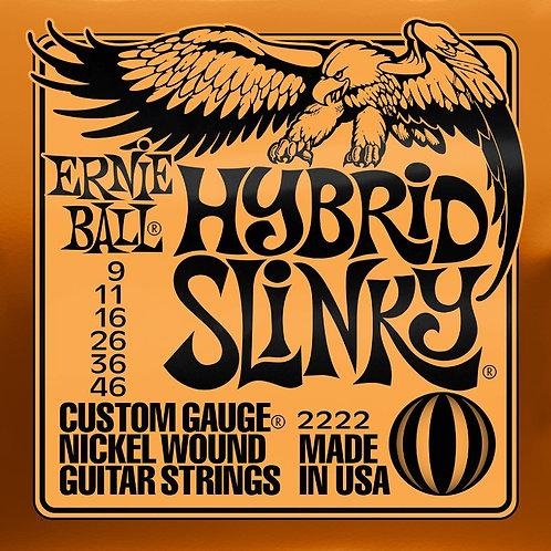 Ernie Ball Hybrid Slinky 9 - 46 Electric Guitar Strings