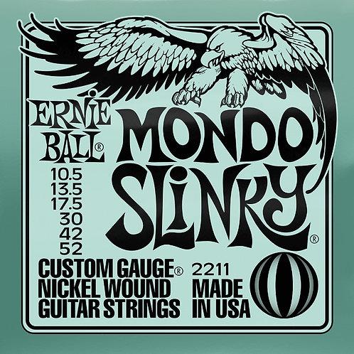 Ernie Ball Mondo Slinky 10.5 - 52 Electric Guitar Strings