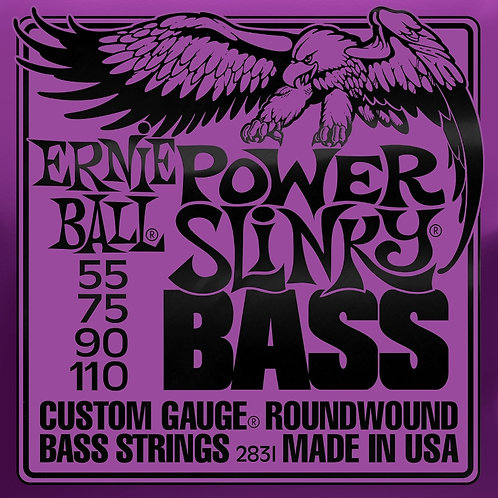 Ernie Ball Power Slinky Bass 55 - 110 Electric Bass Strings