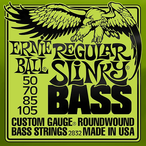 Ernie Ball Regular Slinky Bass 50 - 105 Electric Bass Strings