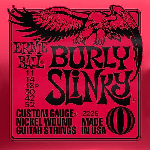 Ernie Ball Burly Slinky 11 - 52 Electric Guitar Strings