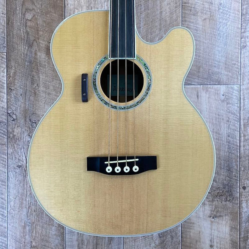 Ashbury AGB40 Fretless Acoustic Bass - (Pre-Owned)