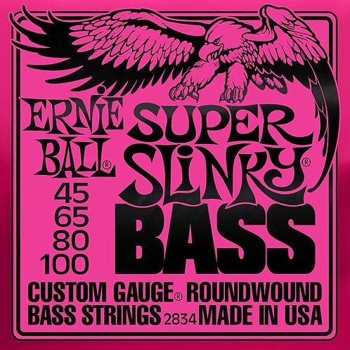 Ernie Ball Super Slinky Bass 45 - 100 Electric Bass Strings