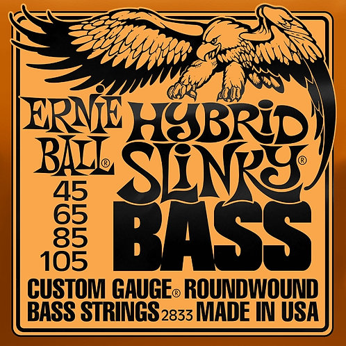 Ernie Ball Hybrid Slinky Bass 45 - 105 Electric Bass Strings