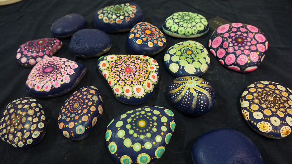 mandala peints