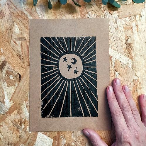 Affiche A5 Soleil Astral