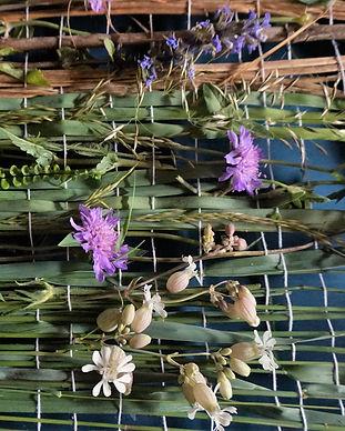 atelier écologique tissage végétal