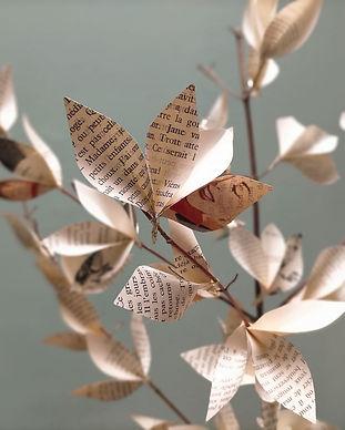 atelier écologique arbre papier