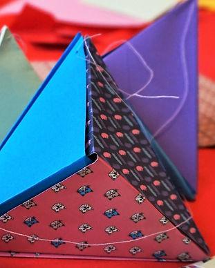 atelier art journal origami