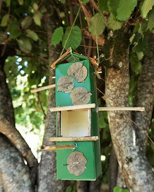atelier écologique mangeoire oiseau