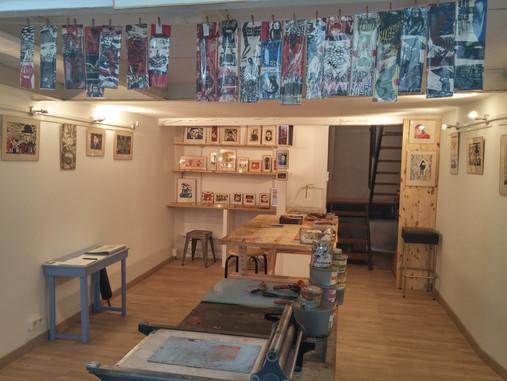 L'atelier de Vincent Tavernier