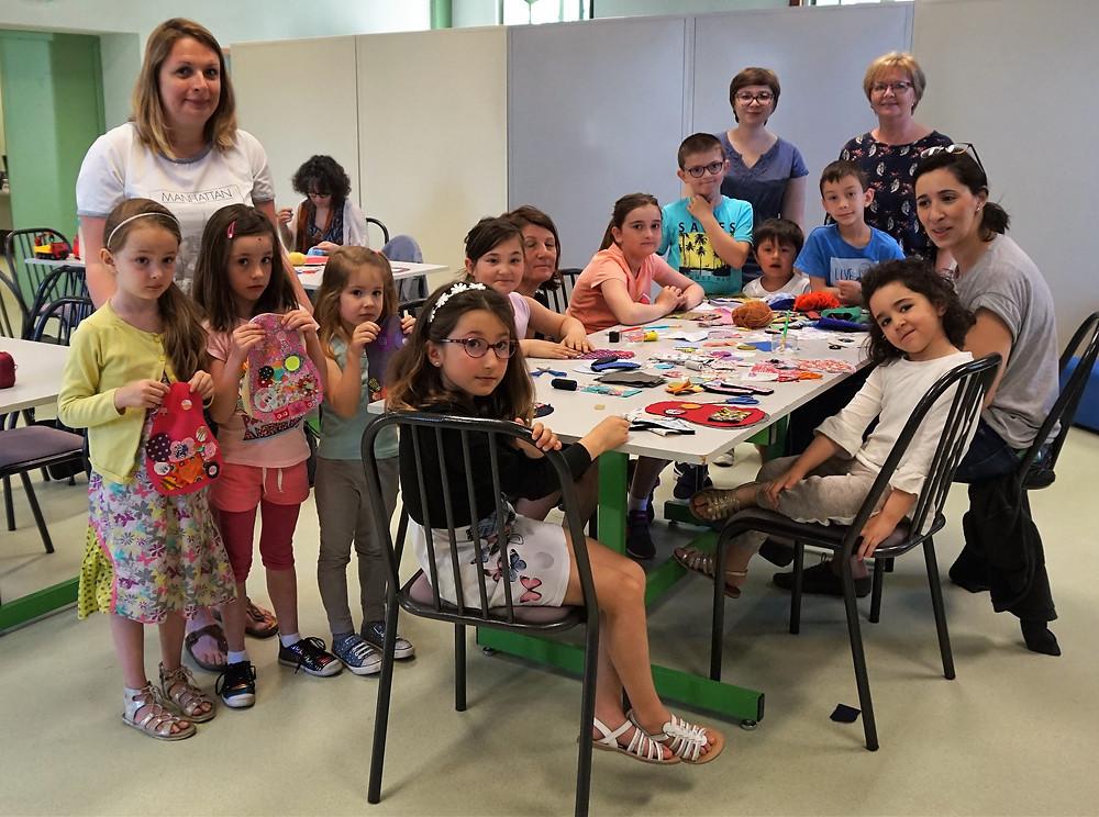 atelier créatif à la bibliothèque Lamartine Aix-les-bains