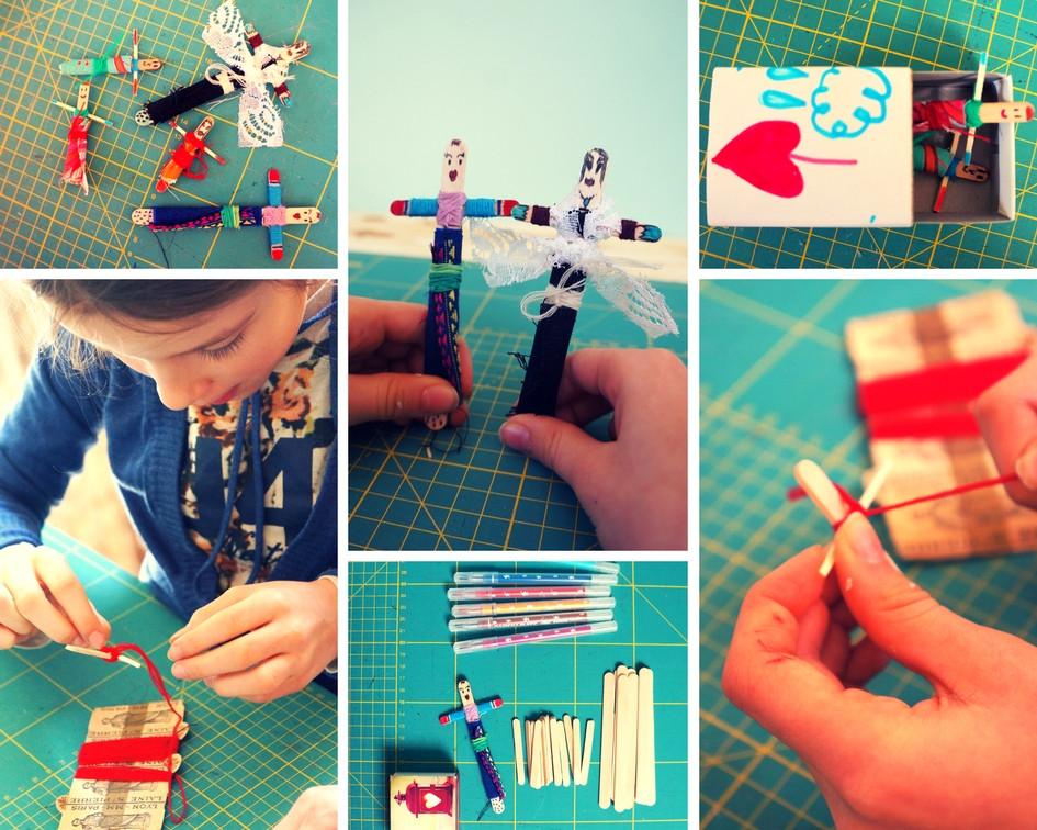 atelier créatif de poupées tracas